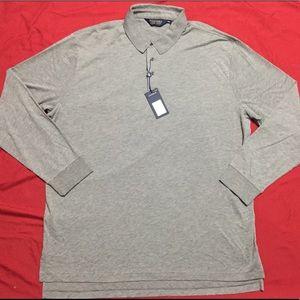 Ralph Lauren Polo Golf Long Sleeve Gray
